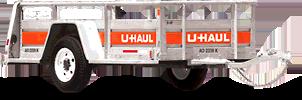 5′ x 8′ Open Utility Trailers