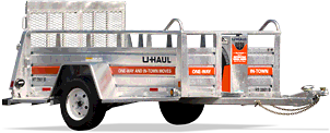 5′ x 9′ Open Utility Trailer with Ramp