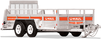 6′ x 12′ Open Utility Trailer with Ramp